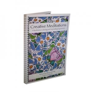 creative meditations coloring book